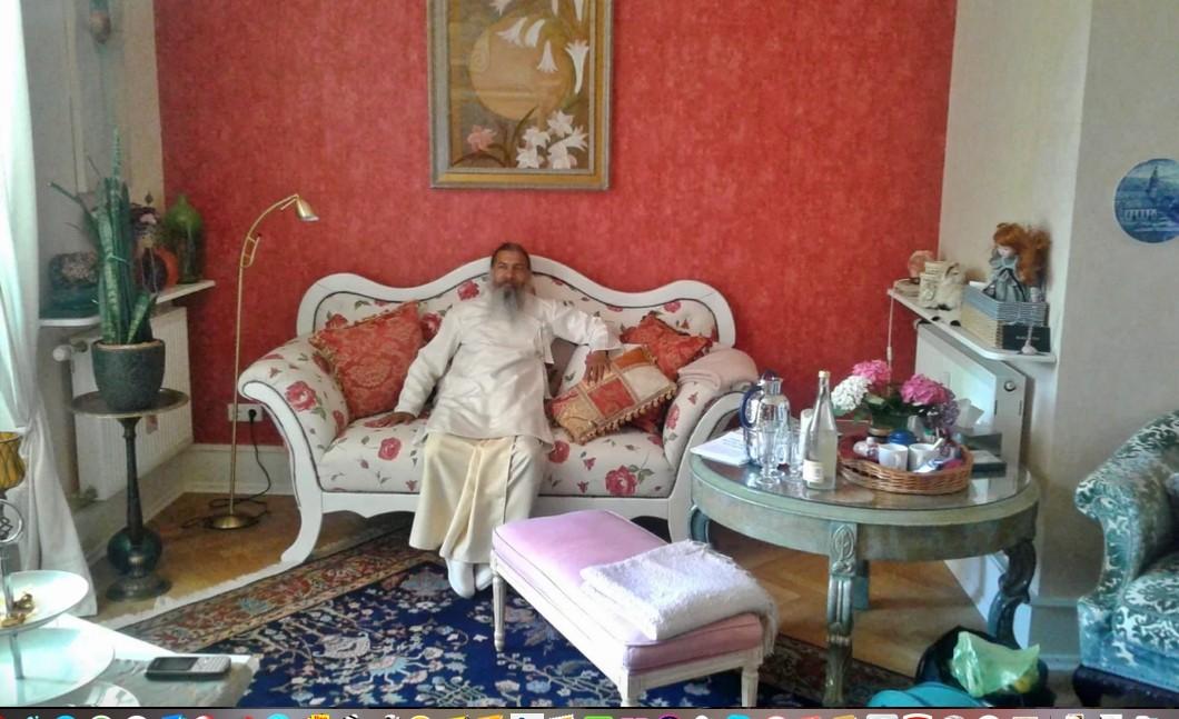 Babaji im Wartezimmer